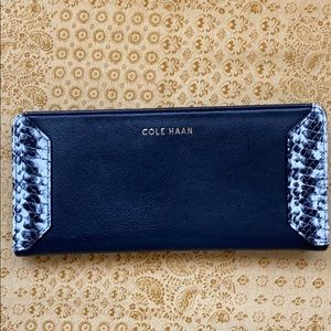 Cole Haan buttery soft leather slim wallet